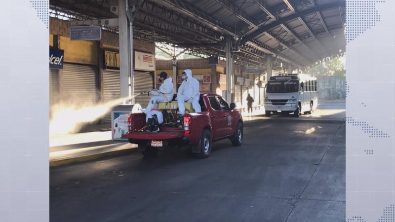 Supervisa COEPRISS las medidas sanitarias en autobuses