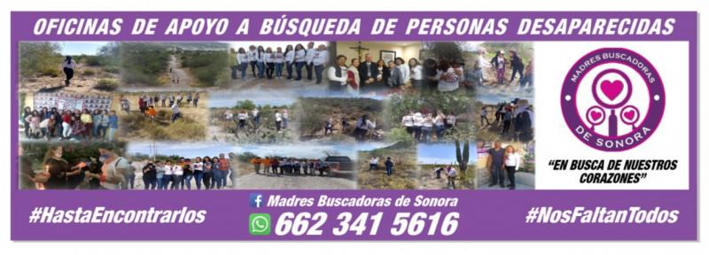 Madres Buscadoras de Sonora inaugurarán oficina de apoyo en Hermosillo