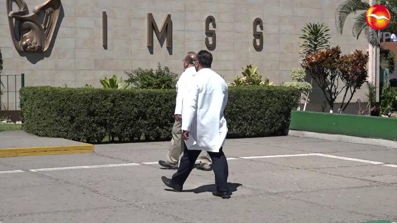 Entregarán condecoraciones a médicos y enfermeras de México