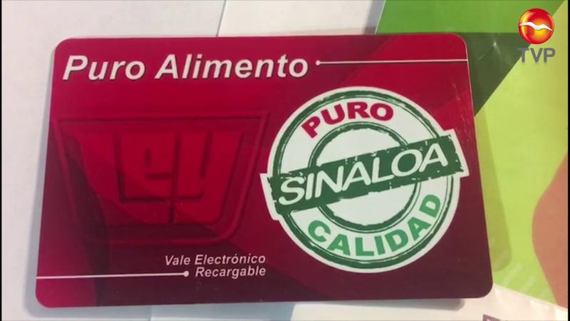 Apoyan a familias vulnerables en Villa Unión con tarjetas electrónicas