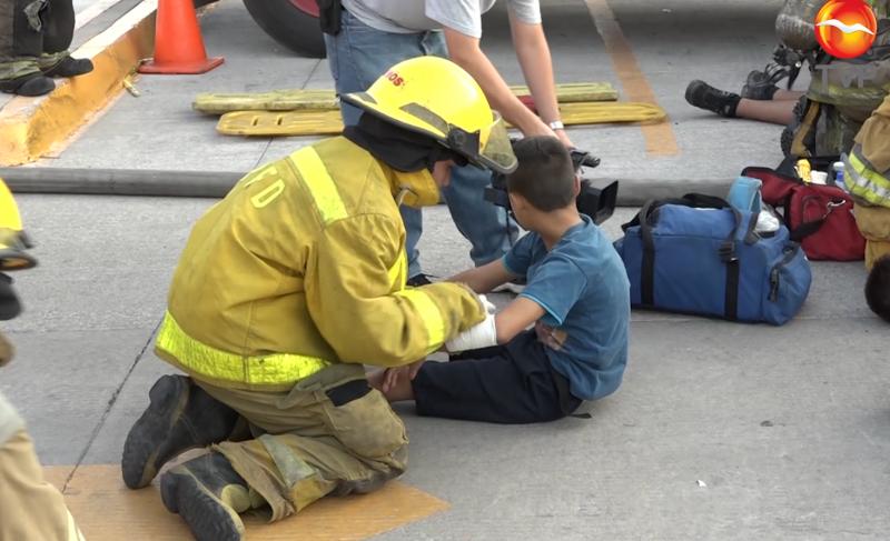 """Exhorta bomberos a la creación de """"Plan familiar"""" en los hogares"""
