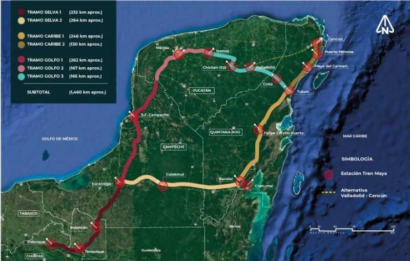 El Tren Maya disminuirá 15% la pobreza en el sureste de México hacia 2030, calcula la ONU