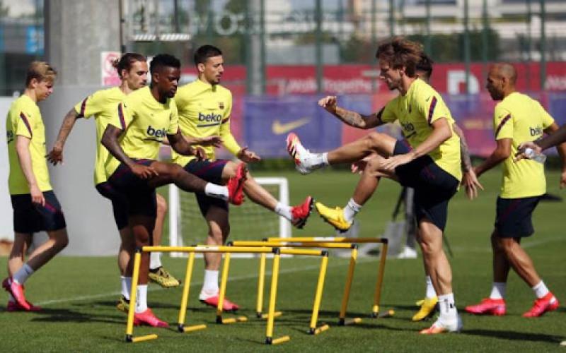 Barcelona se alista para el regreso de La Liga de España