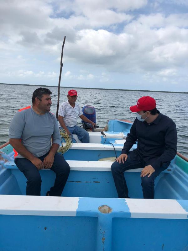 Supervisa Secretario de Pesca el Refugio Pesquero de Altata