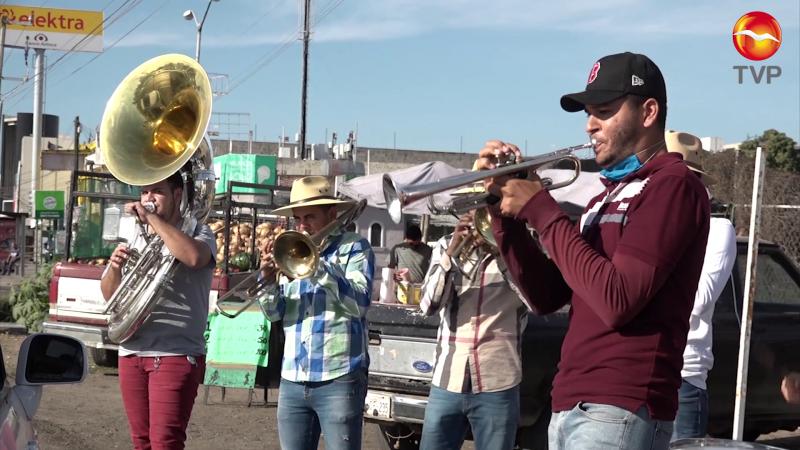 Músicos piden ser incluidos en programa de apoyos alimenticios