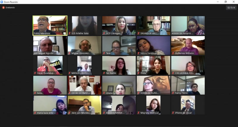 Contadores celebran su día con una conferencia virtual