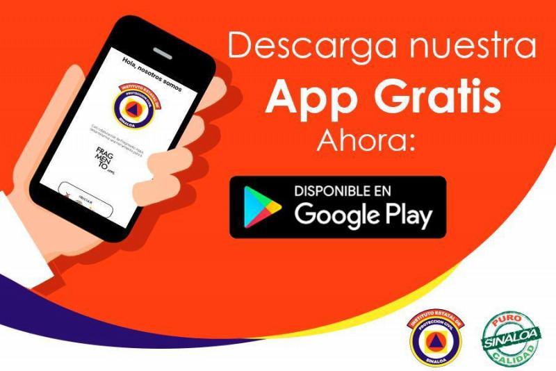 """PC pone a disposición App """"Sinaloa Alerta"""""""