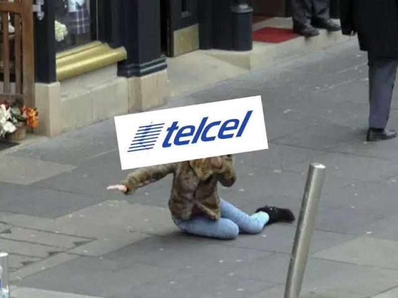 Usuarios Telcel reportan caída en el servicio de llamadas