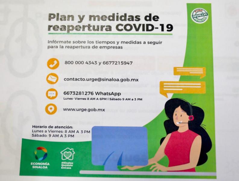 Disponible para los empresarios un Call Center COVID