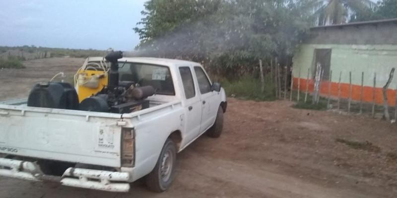 Fumiga Ayuntamiento de Navolato contra el mosco, todos los campos pesqueros