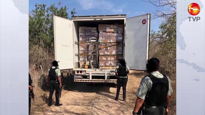 Recuperan unidad cargada de medicamentos que había sido despojada en Villa Unión