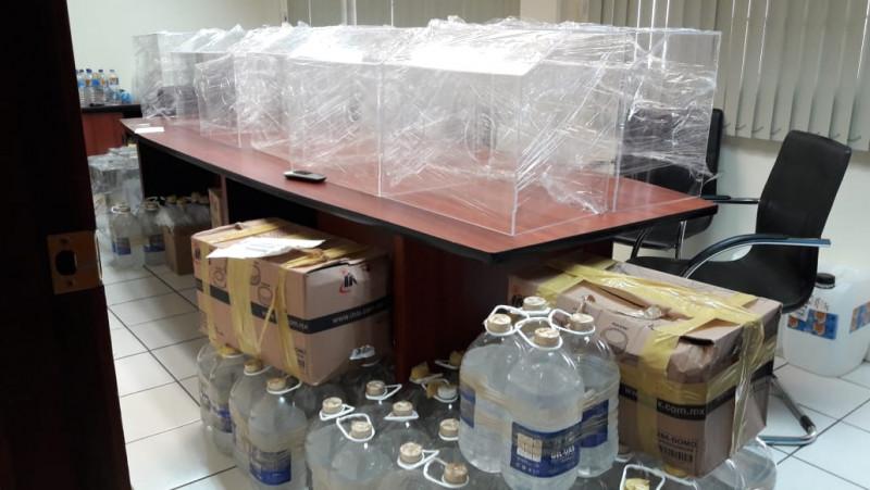 UAS Unidad Regional Sur, dona insumos médicos