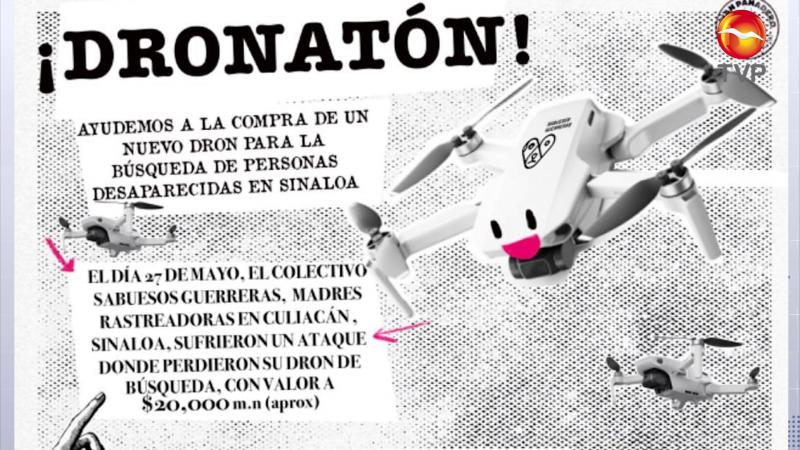 Llaman a apoyar el dronatón
