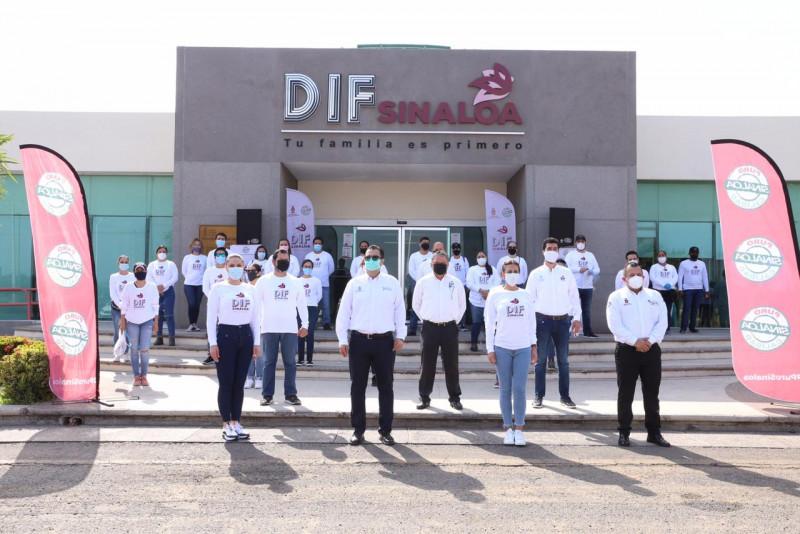 Distribuye DIF medicamentos a pacientes COVID