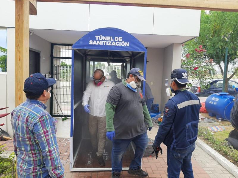 Insiste COEPRISS que túneles de sanitización son un riesgo