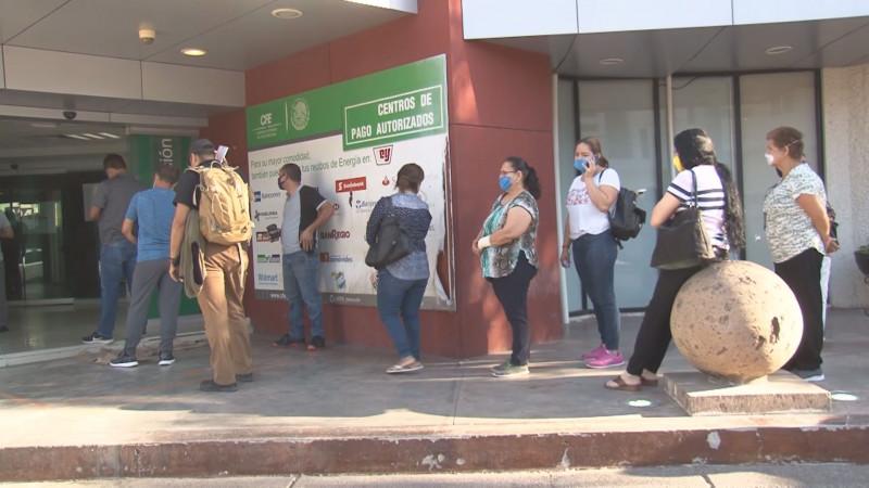 Partidos políticos en Sinaloa rechazan los altos cobros y los cortes de energía que realiza la CFE