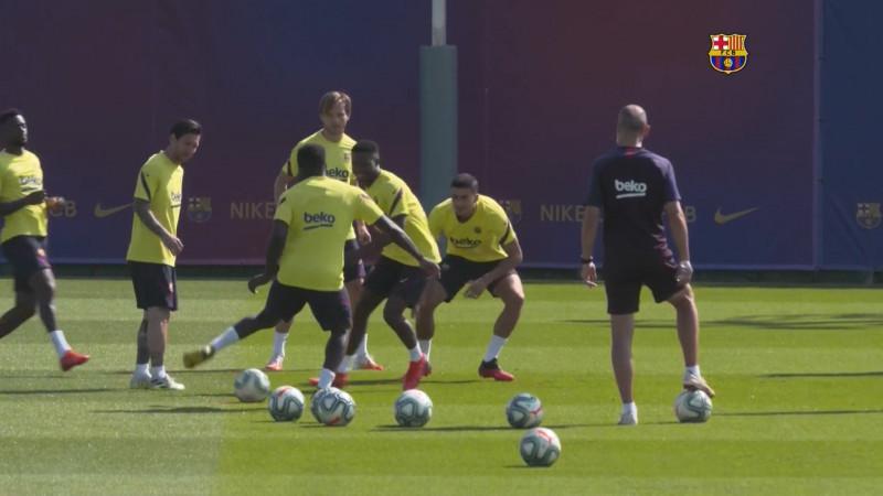 Barcelona alista armas para el inicio de LaLiga