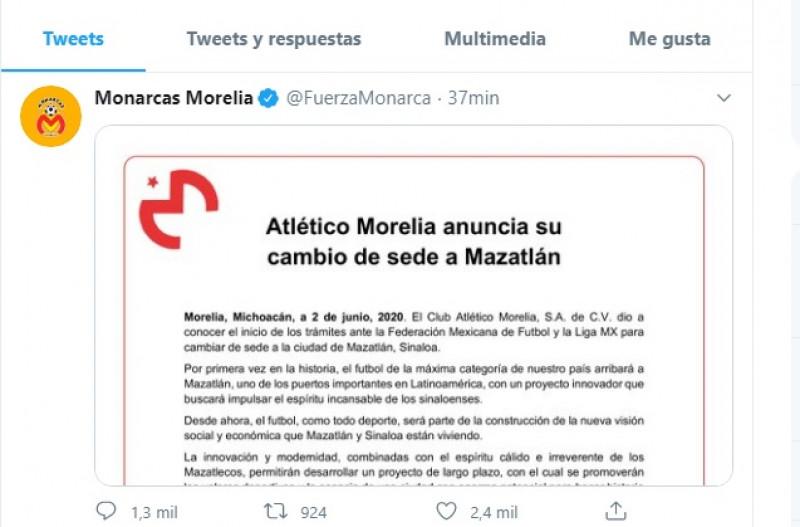 ¡Al fin! Directiva de Monarcas anuncia su cambio de sede a Mazatlán