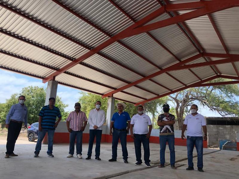 Inaugura Sergio Torres techumbres en Cooperativas pesqueras.