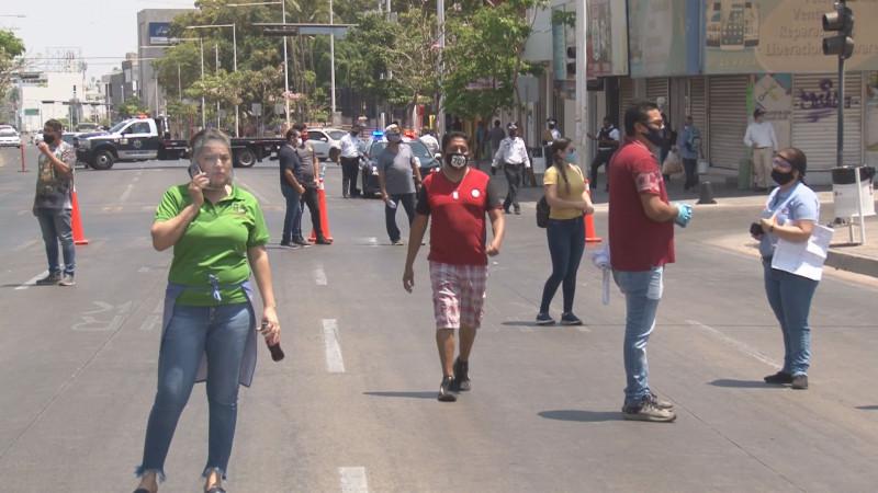 Comerciantes del centro hartos de que las calles estén cerradas