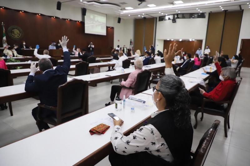 Aprueba congreso dictamen para realizar sesiones virtuales