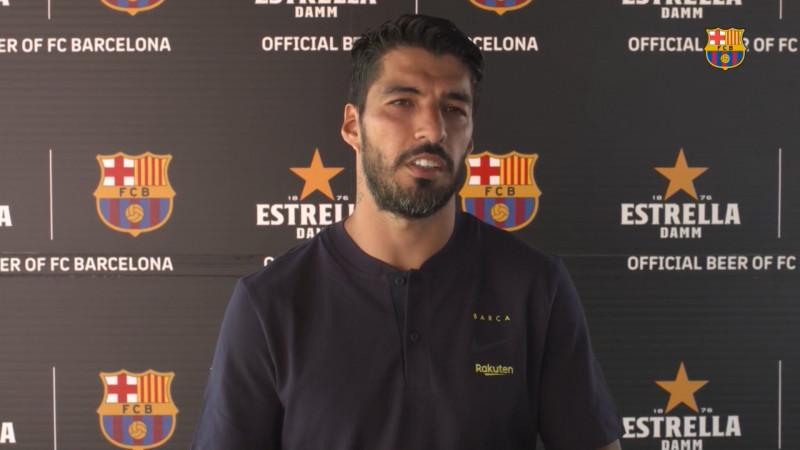 Luis Suárez listo para el regreso de LaLiga