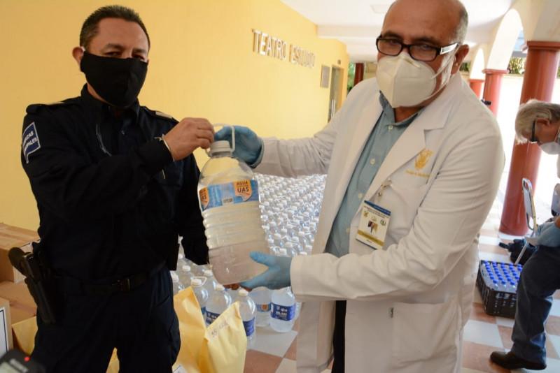 UAS solidaria con la población ante coronavirus