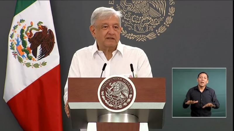 """""""No mentir, no robar, no traicionar"""", otras de las medidas de López Obrador para evitar el Covid-19"""