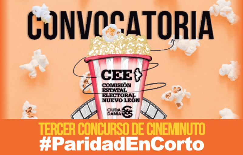 Convocan al concurso de CineMinuto #ParidadEnCorto