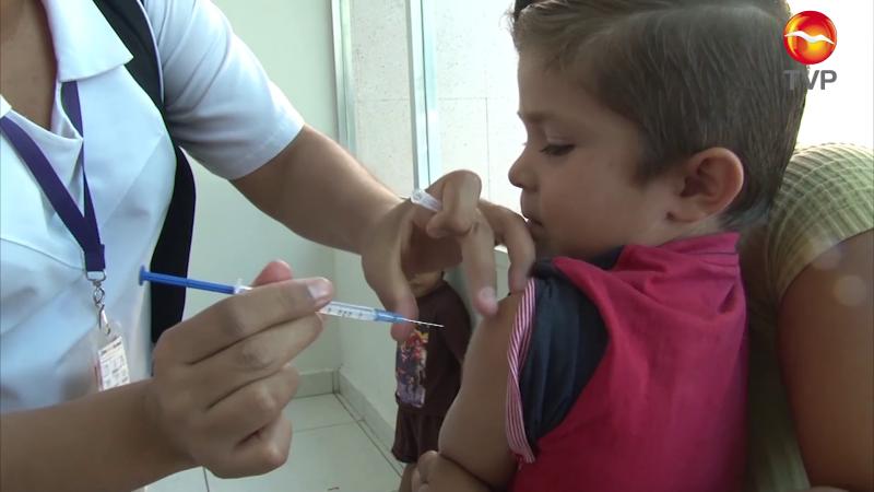Exhortan autoridades a vacunar a los niños
