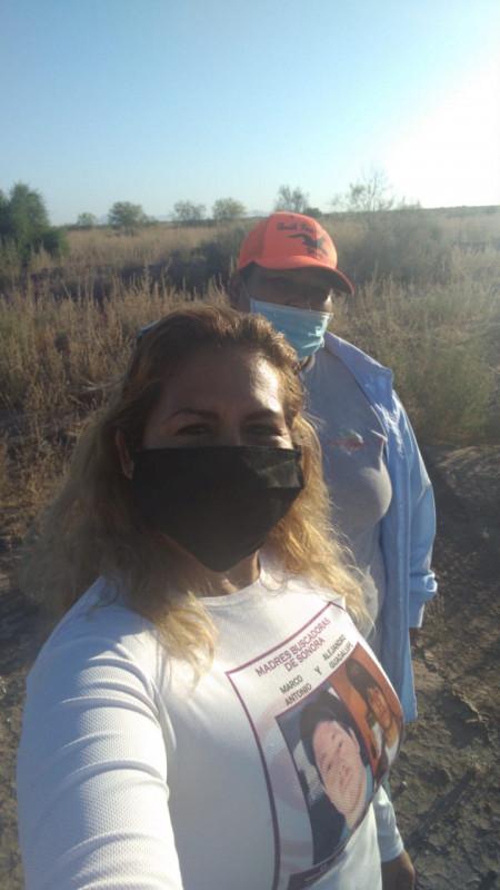 Madres Buscadoras de Sonora encuentran cuerpo de joven