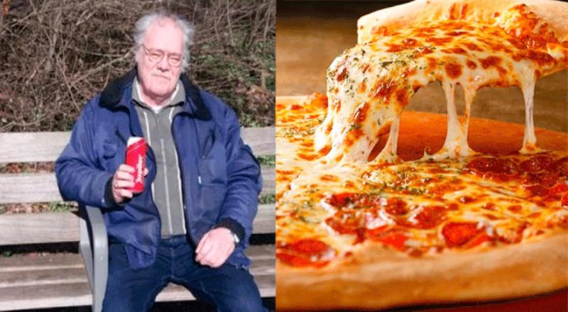 Por 9 años, alguien ha acosado a este hombre mandando pizzas sin que lo pida