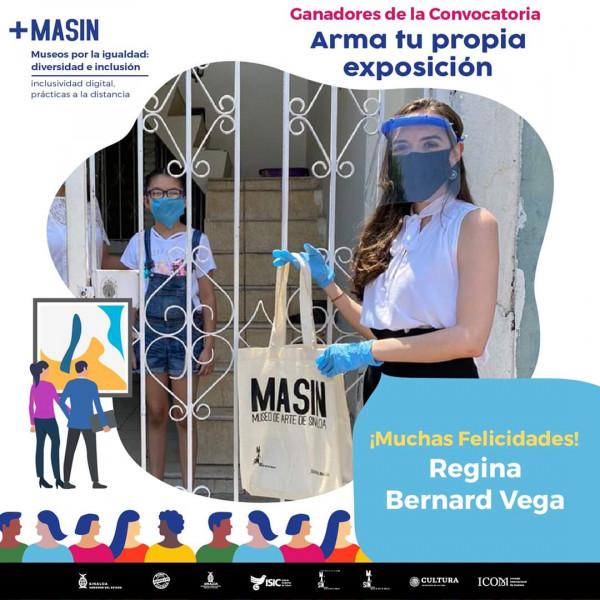 """MASIN premia a ganadoras de la convocatoria """"Arma tu propia exposición"""""""