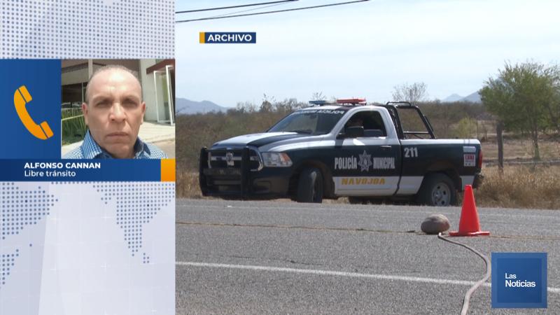 Descubre policia federal y Movimiento por el libre transito modo de extorcion en navojoa