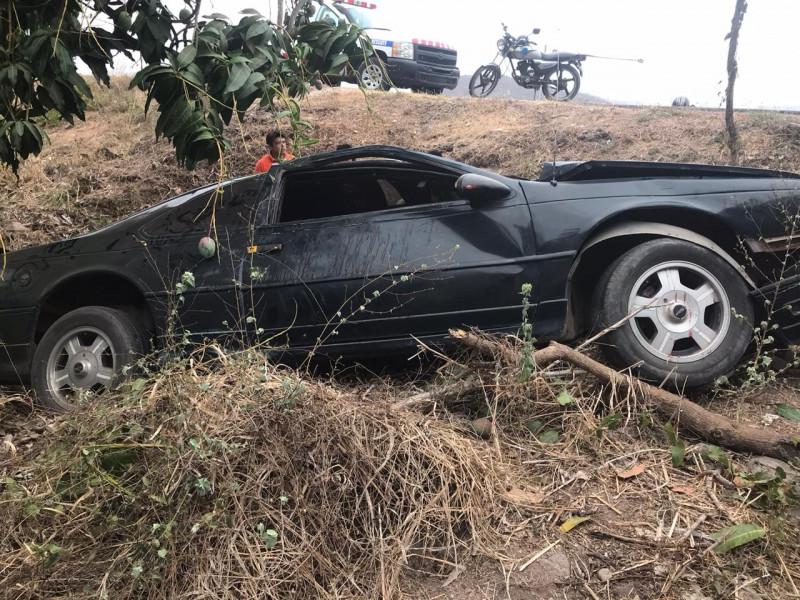 Fuerte choque deja tres heridos en Escuinapa