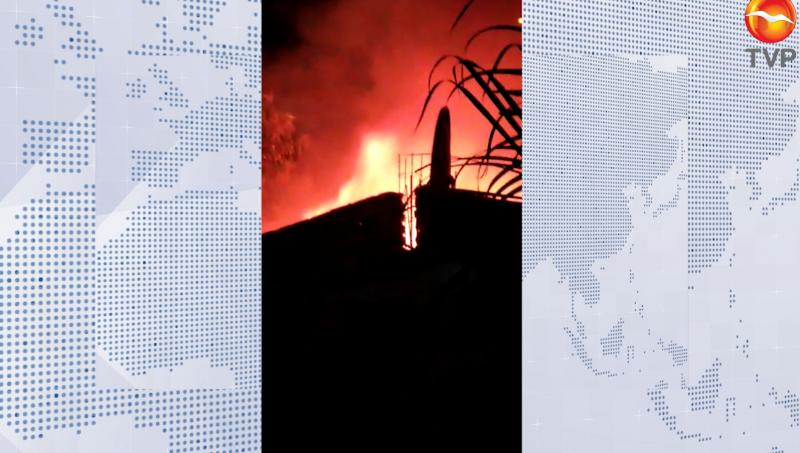 Incendio en el Cerro de la Nevería movilizó a cuerpos de auxilio