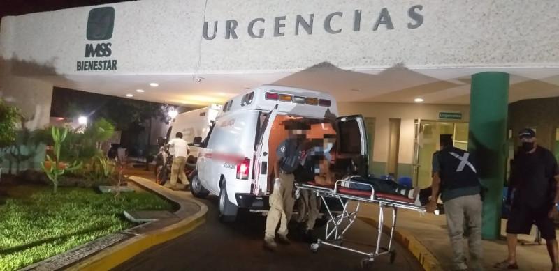 Accidente deja un joven lesionado en Walamo