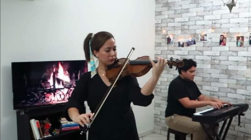 """Interpretación de """"Siciliana"""" con Brianda María José Oviedo"""