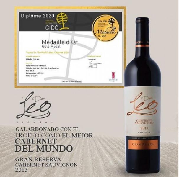 Reconocen a este vino mexicano como el mejor tinto de uva cabernet sauvignon del mundo