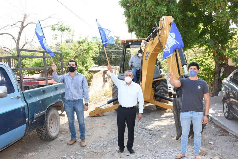 Iniciarán los trabajos de pavimentación e introducción de agua potable en El Rosario
