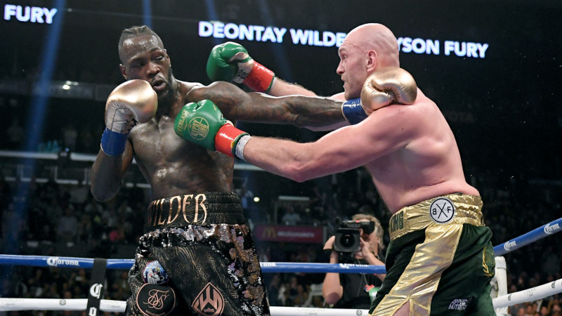 Tyson Fury vs Deontay Wilder lll seria para finales del 2020