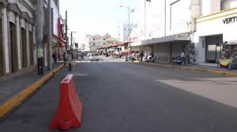 Centro de Culiacán no se abre a los vehículos