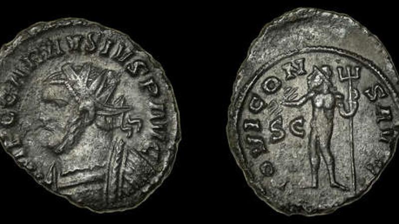 De niño encontró esta curiosa moneda y de adulto la subasta en 5 mil dólares