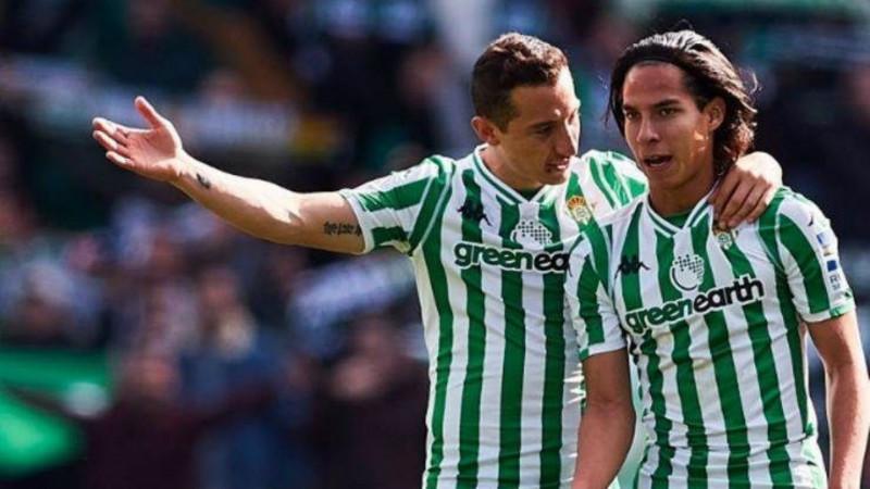 Andrés Guardado y Diego Lainez convocados para el derby sevillano