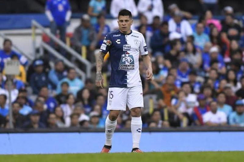 Juan Iturbe sale de Pachuca