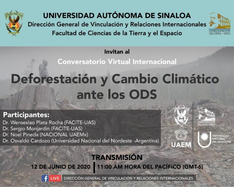 Invita la UAS a participar en conversatorios virtuales