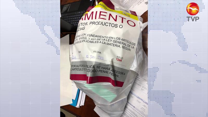 COEPRISS asegura medicamentos y pruebas COVID en Mazatlán