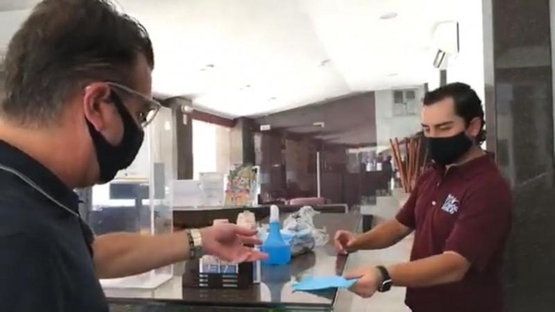 Supervisan hoteles para que cumplan con los protocolos sanitarios