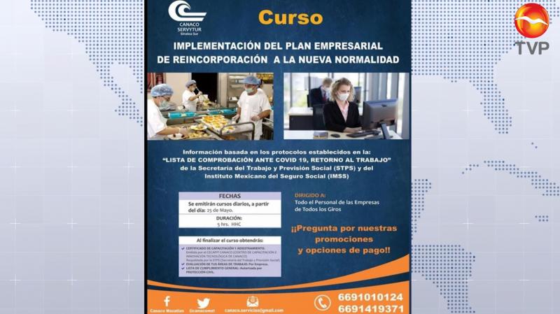 CANACO impartirá cursos para reincorporación a la nueva normalidad