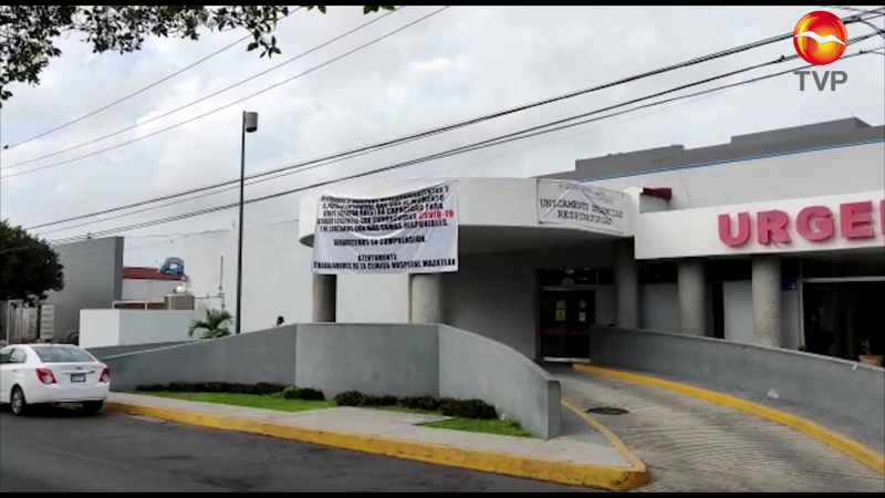 ISSSTE Mazatlán a su máxima capacidad en camas COVID-19